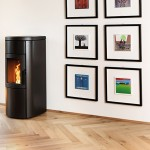 Ventilated Pellet stove Ravelli NATURAL 9 Air-Convection